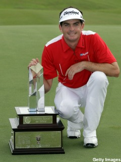 Киган Бредли (Keegan Bradley), победитель PGA Grand Slam of Golf 2011