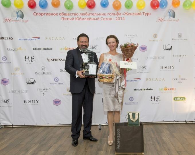 Тимур Мустафин и Нина Филлимор