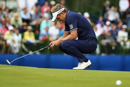 Люк Дональд (Luke Donald). Фото: Getty Images