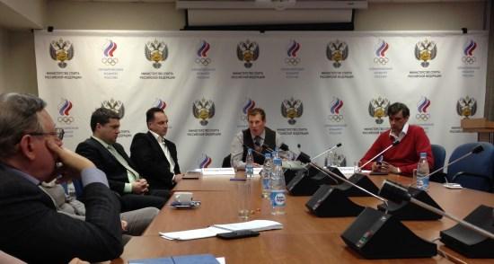Пресс-конференция президента АГР Андрея Вдовина