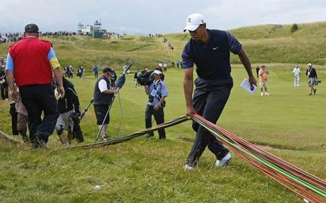 Tiger Woods, Turnberry The Open 2009