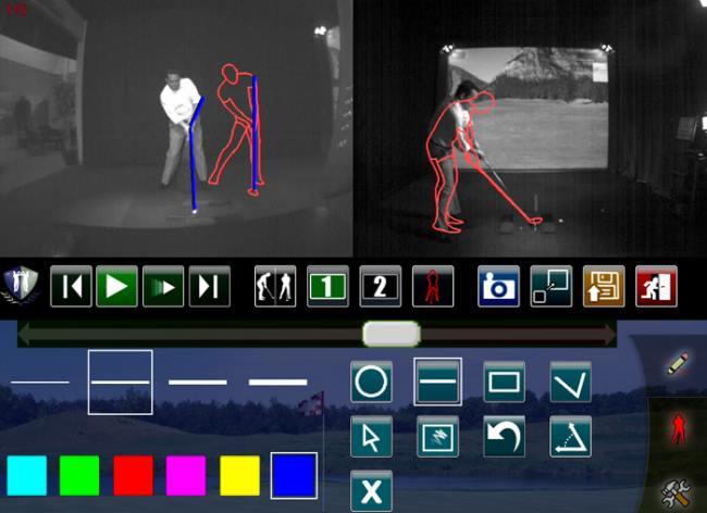 Симулятор HD Golf