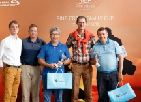 Family Cup в Pine Creek Golf Resort. Абсолютные победители – Григорий Сомов и Игорь Кашигин