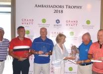 Команда Великобритании первая на турнире Ambassadors Trophy в Dreamland Golf Club