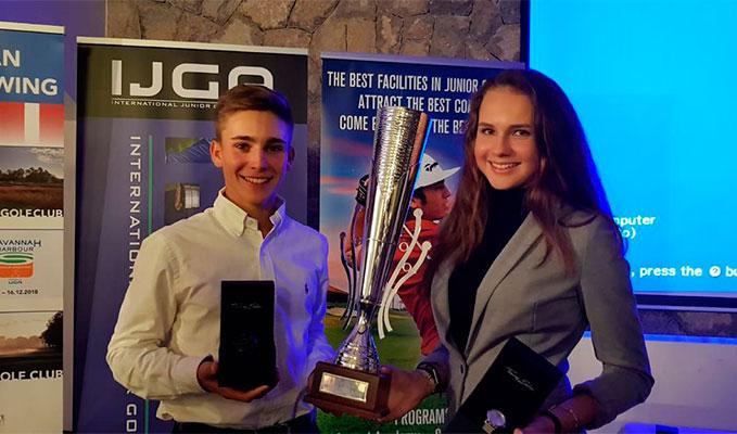 Золотой дубль Наталии Гусевой и Егора Ерошенко на этапе Global Junior Golf в Таррагоне