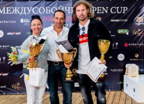Междусобойчик Open Cup в Links National GC. Best gross: Майя Кучеркова, Дмитрий Гаранов