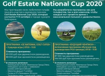 Групповой выезд Golf Estate National Golf Cup20 в Геленджик в октябре 2020 года