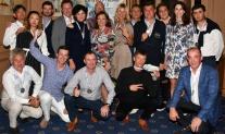 UTS Golf Trophy Cannes 2018. Р?СЂРёРЅР° Нестерова Рё Роман Завьялов, Рё команда РІ составе Никита Рё Андрей Голушко