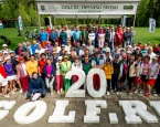Golf.Ru Opening Swing 2019 открыл сезон в Moscow Country Club