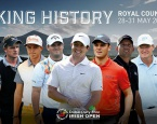 European Tour: Dubai Duty Free Irish Open, день первый