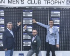 Владимир Рассказов, Армен Мовсесян и Игорь Чижиков на European Men's Club Trophy