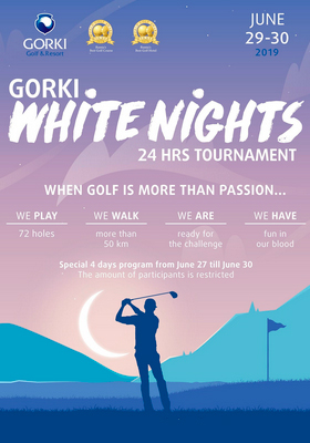 GORKI White Nights 24 HRS Golf Tournament